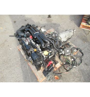 2008-2012 SUBARU IMPREZA WRX 2.5L TURBO ENGINE JDM EJ255 ENGINE LEGACY GT 2.5L