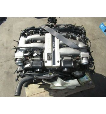 JDM Nissan 300ZX VG30 Engine 5 Speed MT Transmission VG30DE