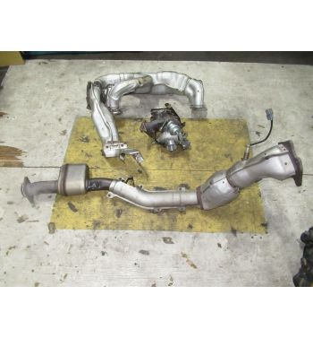 JDM 2010 Subaru Impreza WRX STI VF49 Twin Scroll Turbo Downpipe