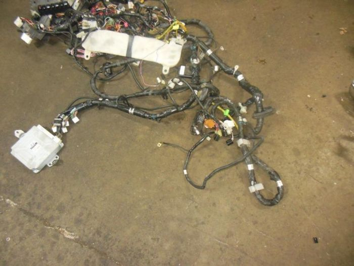 used jdm SUBARU WRX STI VERSION 7 ENGINE WIRING HARNESS ... Used Engine Wiring Harness on bmw 2 8 engine wire harness, engine control module, engine harmonic balancer, oem engine wire harness, suspension harness, dodge sprinter engine harness, hoist harness,