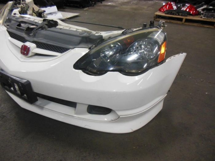 Jdm Acura Rsx Front End Hid Dc Type R Bumper Lip Rsx - Acura rsx radiator